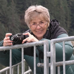 Taking pictures of the Mendenhall Glacier, Juneau, AK - 2013