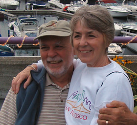 Gloria and husband, Frank, the love of her life