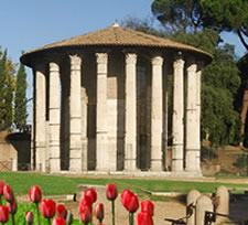 The Temple of Vesta, Rome