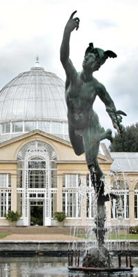 Flying Mercury Statue - Syon Park, London