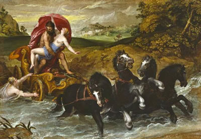 The Rape of Persephone, by Christoph Swchartz, c1570