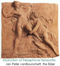 Abduction of Persephone Terracotta